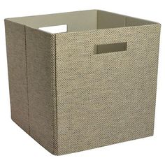 "Threshold Fabric Cube Storage Bin - Assorted Colors(13"")"