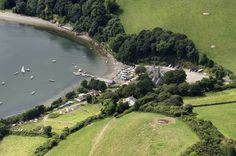 St Anthony in Meneage in Cornwall UK aerial image by John Fielding #stanthonyinmeneage #cornwall #aerial #coast