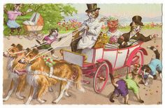 Mainzer Cats - the wedding party by Emma Paperclip, via Flickr