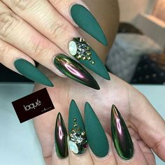 422 best stiletto nails images  pretty nails cute nails