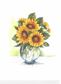 Three Sunflower Greeting cards. Free by FranciscanGraphics on Etsy