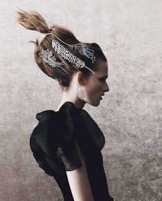 """Jewels in the Crown"" ""crown jewel"" Photographed by / Photographer: Yuval Hen / Yuval Hang Styled by / styling: Damian Foxe / Damian Fox Model / Model: Emma Oak / Emma Oak"