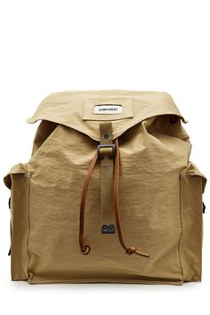 DSQUARED2 Dsquared2 Backpack with Leather and Cotton. #dsquared2 #bags #leather #backpacks #cotton #