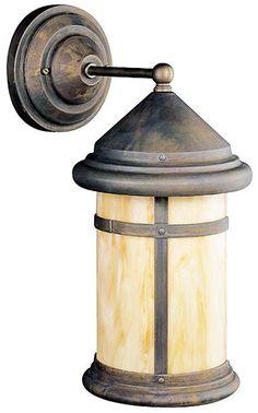 Kichler Tularosa Bronze 17 High Outdoor Wall Light -