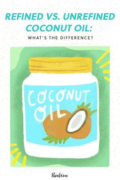 Unrefined Coconut Oil, Coconut Oil Uses, Sous Vide Cooking, Cooking Oil, Health And Beauty Tips, Health Tips, Refined Oil, How To Treat Acne, Health Facts