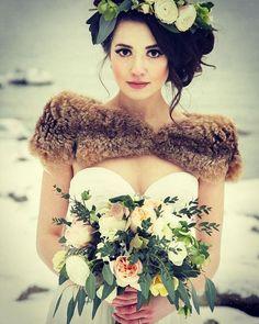 Buenos días 😊 Las #bodas de #invierno nos encantan !!  #wedding #winter #nieve…