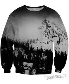 Snow Day Crewneck Sweatshirt - Rage On! - The World's Largest All-Over-Print Online Store