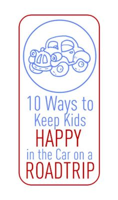 Lots of Fun Car Activities-For Summer Vacation (If the kids are happy, Mom's happy)