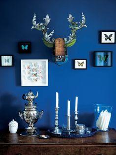 butterfly wall art via Ikea blog