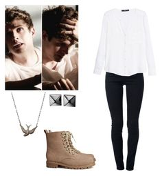 """""""Isaac lahey inspired - teenwolf"""" by shadyannon ❤ liked on Polyvore featuring STELLA McCARTNEY, MANGO, H&M and Waterford"""
