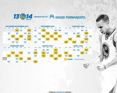 2013-14 Schedule: Stephen Curry