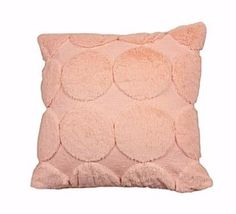 The quilted geometric dec pillow is an expression of personality. The soft hand feel of faux fur with geometric quilted pattern is perfect decoration for sofa & bed decor. Sofa Bed Decor, Color Patterns, Faux Fur, Pillow Covers, Personality, Throw Pillows, Decoration, Pink, Decor