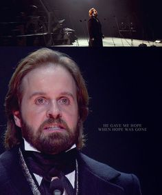 Les Miserables challenge - a graphic per song in the 25th anniversary concert: 10/47 - Who Am I