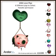 ASN Love Pigs Collectables
