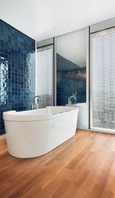 #wood #bathroom #parquet #floor