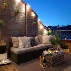 Outdoor Balcony Lighting Ideas