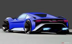 2019 Audi 'RSQ e-tron' digital idea automobile (created for the animated movie Spies in Disguise) New Sports Cars, Sport Cars, Carros Audi, Audi Usa, Ferrari, Blue Lamborghini, Automobile, Audi Cars, Cars Auto