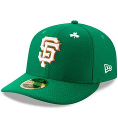 381fd75d9b5f7 Men s San Francisco Giants New Era Kelly Green 2019 St. Patrick s Day On- Field Low Profile 59FIFTY Fitted Hat