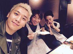今3人ですきやき食べてるけど来る_ #madejapantour  by seungriseyo