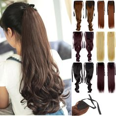 Cheap tail bag, Buy Quality fashion maternity directly from China tail windows Suppliers: Woman Ponytail Fashion Hairpiece Long Banding Curly Synthetic Hair Lady Ponytails Hairs Extension Girls Pony Tail Ponytail Hair Extensions, Ponytail Hairstyles, Lip Liner, Synthetic Hair, Hair Pieces, Dame, Wigs, Curly, Hair Beauty