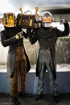 Daft Steampunk! Doesn't get any better than this!  - steampunk - ☮k☮