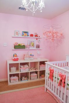 Inspired by prep- think Lacoste polo shirts, coupled with Shabby Chic-think wrought iron chandeliers and water colored flowers, I designed my baby girl Emerald a nursery I believe she'll really be able to grow up in. Chic Nursery, Nursery Room, Girl Nursery, Girls Bedroom, Baby Room, Nursery Ideas, Playroom Ideas, Bedroom Ideas, Bedrooms
