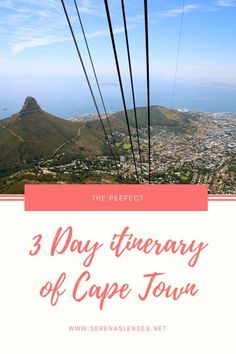 The Perfect 3 Day Itinerary of Cape Town, South Africa
