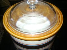 Homemade Yogurt in the Crock Pot! - I have to try this with the way my husband eats yogurt!