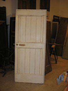 Vecchia porta di case di campagna, restaurata e finita in Shabby Chic-Decape' Naturale.