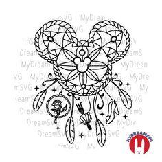 Body Art Tattoos, Tattoo Drawings, New Tattoos, Tatoos, Disney Tattoos, Disney Inspired Tattoos, Mickey Mouse Tattoos, Disney Crafts, Disney Art