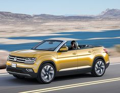 """Check out new work on my @Behance portfolio: """"Volkswagen Atlas Convertible Concept"""" http://be.net/gallery/45084815/Volkswagen-Atlas-Convertible-Concept"""