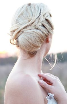 Wedding Hairstyles, Braided Hairstyles, Romantic Hair, Wedding Up Do, Braided Hair
