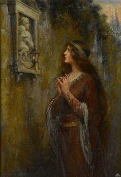 The Shrine - Jennie Augusta Brownscombe
