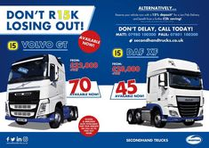 TRUCKS & TRAILERS 4 YOU - online magazine (@UsedTrucks4You) / Twitter Used Trucks, Social Media Channels, Commercial Vehicle, Volvo, Trailers, Online Business, Transportation, Engineering, Container