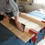 Before: This is how I was cutting sliding dovetails and rabbets by hand.