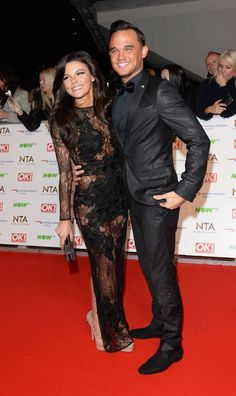 Gareth Gates and Girlfriend | Gareth Gates and Faye Brookes attend the 21st…