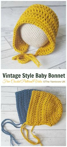 deBaby Bonnet Free Crochet Patterns for Spring & Summer - - Baby Bonnet Crochet .Baby Bonnet Free Crochet Patterns for Spring & Summer - - Baby Bonnet Crochet Free patterns Crochet Baby Hats Free Pattern, Crochet Baby Bonnet, Baby Girl Crochet, Free Crochet, Baby Bonnet Pattern Free, Newborn Crochet Patterns, Crochet Hats For Babies, Crocheted Baby Hats, Crochet Baby Stuff