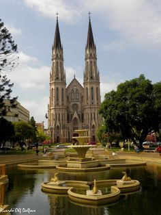 Igreja by rdalfovo - Santa Cruz do Sul, Rio Grande do Sul, Brasil.