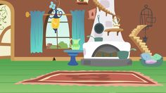 cartoon living room scene - Google Search