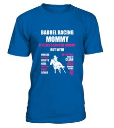 Barrel Racing Mommy Its Like A Soccer Mommy TShirt  #soccer #soccermom #mom #shirt #tshirt #tee #gift #perfectgift #birthday #Christmas #motherday