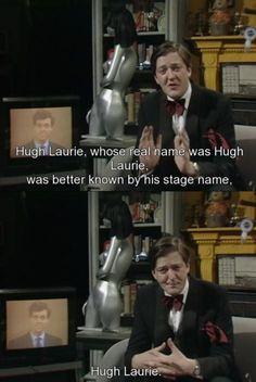 Stephen Fry  Hhaha