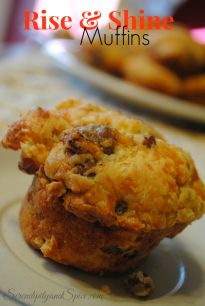 Rise and Shine Breakfast Muffins Recipe - Serendipity and Spice