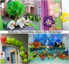 Lovely Balloon Decorations | Home Design, Garden & Architecture ...