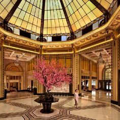 Fairmont Peace Hotel, Shanghai on the Bund, China submitted by Hirsch Bedner Associates
