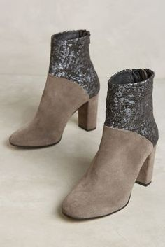 Cubanas Ciara Glitter Booties | Anthropologie