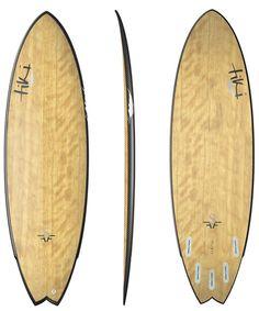 Tiki FFS Bamboo Carbon Fibre Fishtail