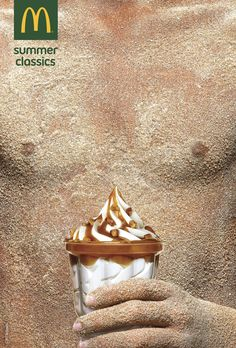 Print advertisement created by TBWA, Portugal for McDonald's, within the category: Food. Poster Ads, Advertising Poster, Marketing And Advertising, Ads Creative, Creative Advertising, Graphic Design Print, Ad Design, Copy Ads, Visual Communication Design