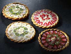 Miniature Fruit Tarts by ChocolateDecadence.deviantart.com on @deviantART