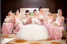 Bridesmaides dresses idea.