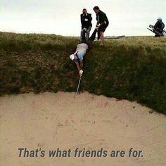 golf friends